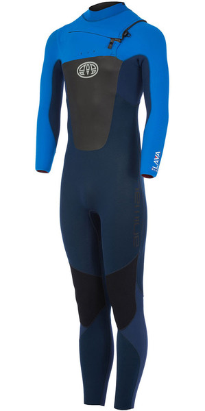 2018 Animal Lava 4/3mm GBS Chest Zip Wetsuit Dark Navy AW7WL104
