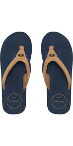 2019 Chanclas Huxley Animal Oscuro Navy Fm9sq012