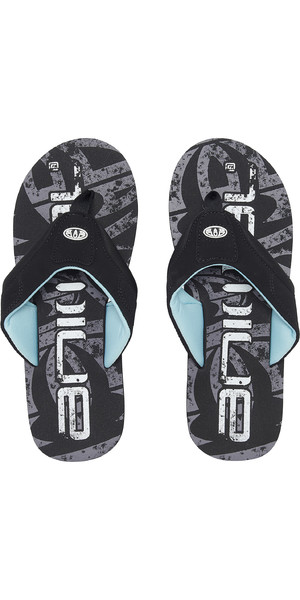 2019 Animal Jekyl Logo Mens Flip Flops Black FM9SQ007