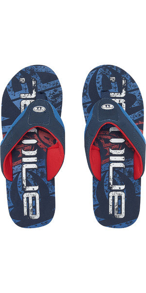 2019 Animal Jekyl Logo Mens Flip Flops Dark Navy FM9SQ007