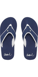 2019 Animal Frauen Swish Block Flip Flops Mid Navy Fm9sq303
