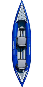 2019 Aquaglide Chelan Hb Two 1-2 Man Kayak Inflable De Alta Presión Azul - Kayak Only Agche2
