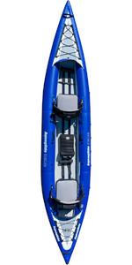 2020 Aquaglide Chelan 155 Hb Xl 3 Homem De Alta Pressão Caiaque Inflável Azul - Caiaque Apenas Agche3