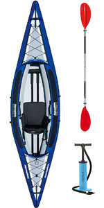 2019 Aquaglide Columbia 1 Man Oppustelig Touring Kayak + 1 GRATIS PADDLE + PUMP