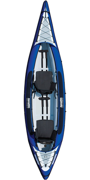 2018 Aquaglide Columbia XP 2 Man Touring Kayak - Blue - Kayak Only