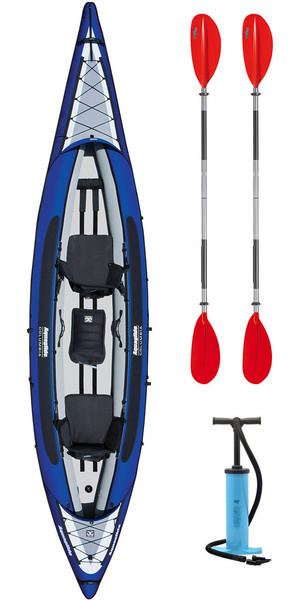 Aquaglide Columbia XP Tandem XL Kayak + 2 FREE PADDLES + PUMP