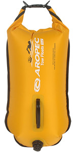 2019 Aropec Følgere Double Tow Float / 28L Dry Bag Gul RFDJ02