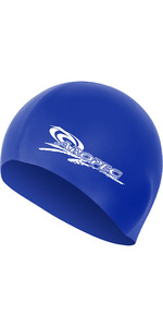 2019 Aropec Junior Silicone Swim Cap Blue CAPGR1C