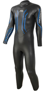 2019 Aropec Mens Cheetah 5 / 3m Triathlon Back Zip Neoprenanzug Schwarz Ds3t507m