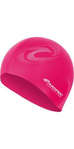 2019 Aropec Damen Silikon Badekappe Pink Capgr1