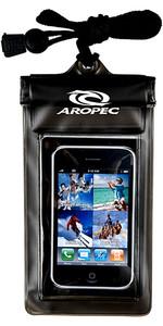 2019 Aropec Étanche Téléphone Portable Sac Noir BBAG01