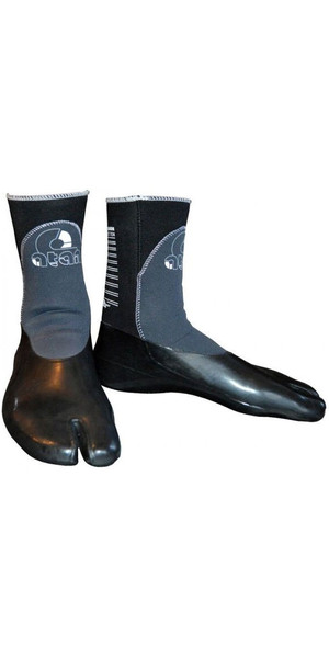 2019 Atan Madisson 3mm GBS Split Toe Wetsuit Boots Black