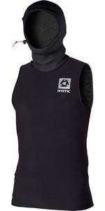 2019 Mystic Herren Bipoly Thermo Hooded Tank Top SCHWARZ 140095