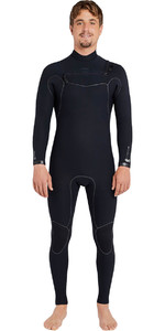 2018 Billabong Furnace Carbon Ultra 3/2mm Chest Zip Wetsuit BLACK F43M10