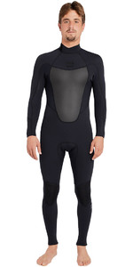 Billabong Absolute 3/2mm Back Zip Flatlock Wetsuit BLACK H43M15