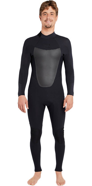 2018 Billabong Absolute 3/2mm GBS Back Zip Wetsuit BLACK H43M16