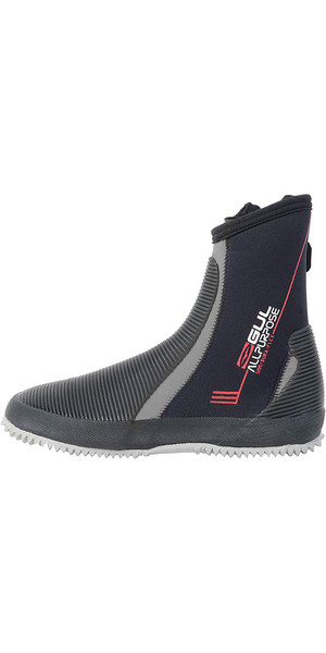 2019 Gul Junior All purpose Botas de 5 mm en negro / gris BO1276