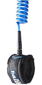 2021 Balin Monster Coil 8mm Double Laisse Cheville Pivotante 10ft Bleu