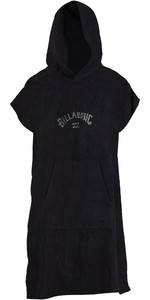 2021 Billabong Mens Hooded Towel / Change Robe ABYAA00117 - Black