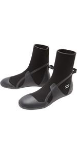 2021 Billabong Absolute 5mm Round Toe Wetsuit Boots Z4BT22 - Black Hash