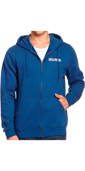 Billabong Adventure Abteilung Zip Hoody in Blau Immobilien L4HO02