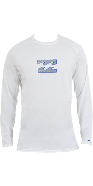 Billabong Anfibio L / S Surf Camisa Blanco P4EQ03