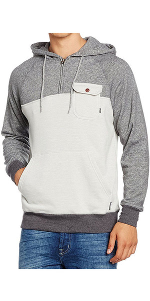 Sweat à capuche demi-zip Billabong Balance LIGHT GREY HEATHER Z1FL08