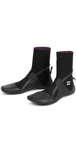 2020 Billabong Furnace Absolute 3mm Split Toe Boots Black Q4BT31