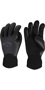 2019 Billabong Furnace Ultra 5mm Neoprene Gloves Black Q4GL35