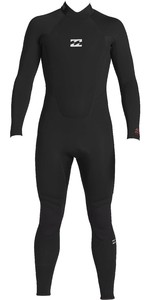 2020 Billabong Junior Boys Intruder 3/2mm Back Zip GBS Wetsuit 043B18 - Black
