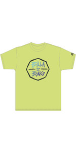 2020 Billabong Junior Dreng Octo Uv Surf Tee S4eq05 - Gul