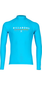 2019 Billabong Junior Boys Unity Long Sleeve Rash Vest Artic N4KY10