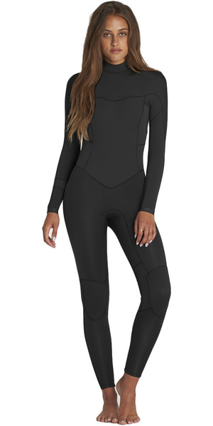 2018 Billabong Womens Synergy 3 / 2mm GBS Back Zip Muta NERA H43G11