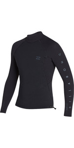 2019 Billabong Herre 1mm Pro Series Ls Neo Jakke Sort N41m01