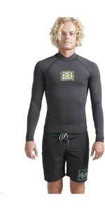 2019 Billabong hombre 2 mm Furnace Revolution Reedición manga larga chaqueta Neo negro Sands N42M17
