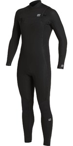 2020 Billabong De Los Hombres Absolute 4/3mm Chest Zip Gbs Wetsuit U44m60 - Negro