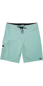 2020 Billabong Heren De Hele Dag Pro Boardshorts S1BS48 - Aqua Heather