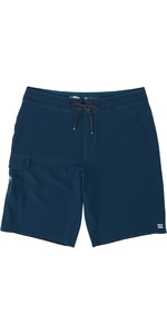 2020 Billabong Herre Heldags Pro Boardshorts S1bs48 - Navy