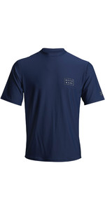2020 Billabong Gestanst UV-surft-shirt Voor Heren S4MY09 - Navy