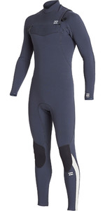 2019 Billabong Mannen Furnace Comping 5/4mm Chest Zip Wetsuit Kolen Q45m04