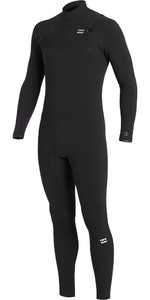 2020 Billabong Mens Furnace Comp 5/4mm Chest Zip Wetsuit U45M53 - Black