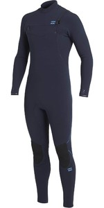 2020 Billabong Mens Furnace Comp 5/4mm Chest Zip Wetsuit U45M53 - Navy