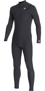 2019 Billabong De Los Hombres Furnace Revolución Pro 3/2mm Chest Zip Wetsuit Q43m80 Negro