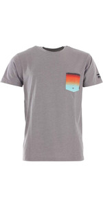2020 Billabong Hombres Team Pocket Uv Surf Tee S4eq02 - Gris Jaspeado