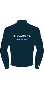 2019 Billabong Mens Unity Long Sleeve Printed Rash Vest Dark Royal N4MY06