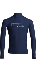 2020 Billabong Unity Long Sleeve Rash Vest S4MY11 - Navy