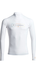 2020 Billabong Unity Long Sleeve Rash Vest S4MY11 - White