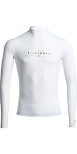 2020 Billabong Unity Langarm-Hautausschlagweste S4my11 - Weiß