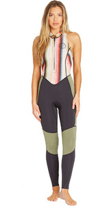 2019 Mulheres Billabong 2mm Salty Jane Sleeveless Wetsuit Serape N42g01