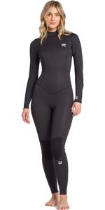 2021 Billabong Womens Launch 3/2mm Back Zip GBS Wetsuit JWFU1BI3 - Grey